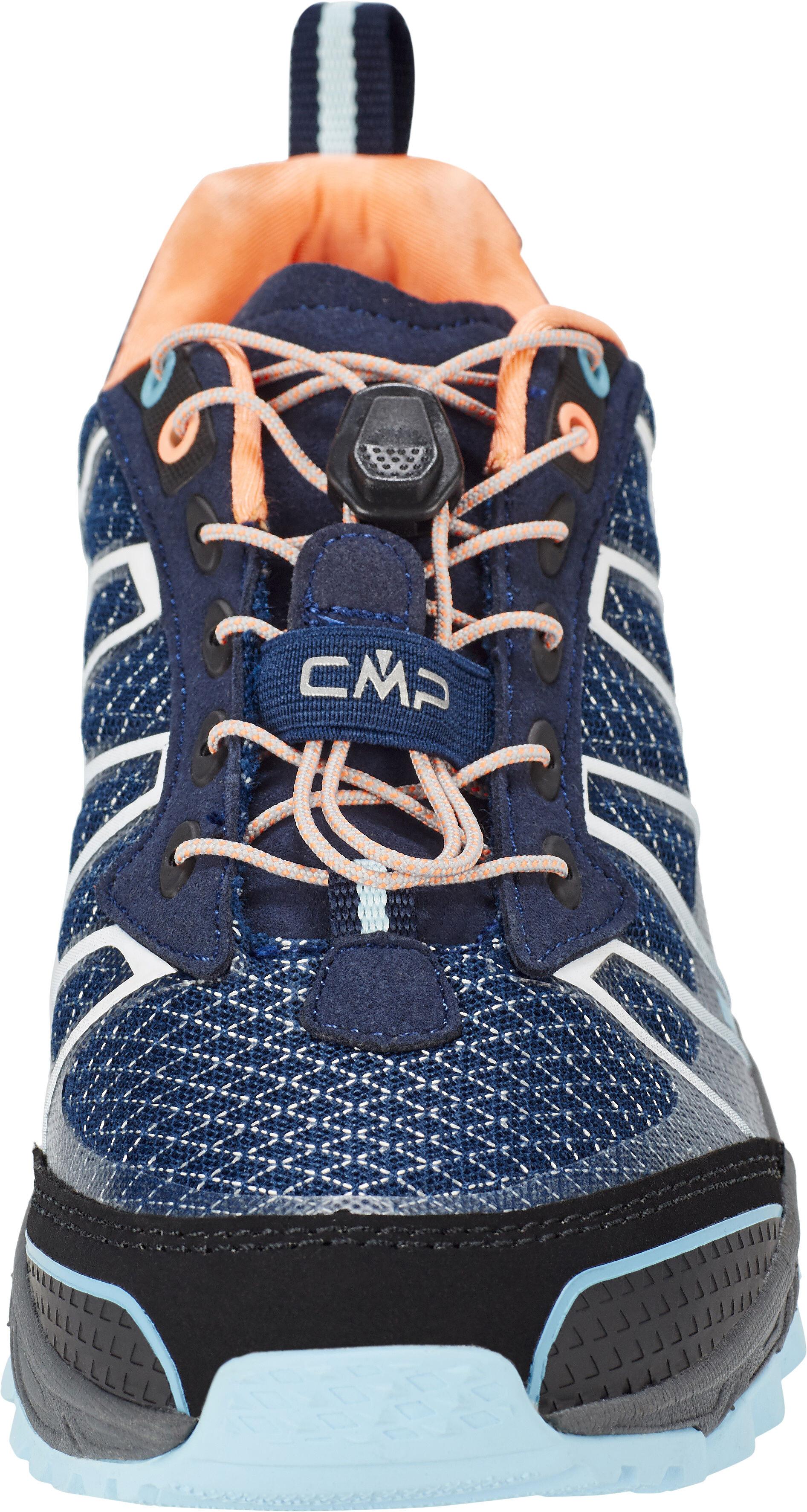 32c2eeb457 CMP Campagnolo Atlas scarpe da corsa Donna, black blue-cristal-peach fluo